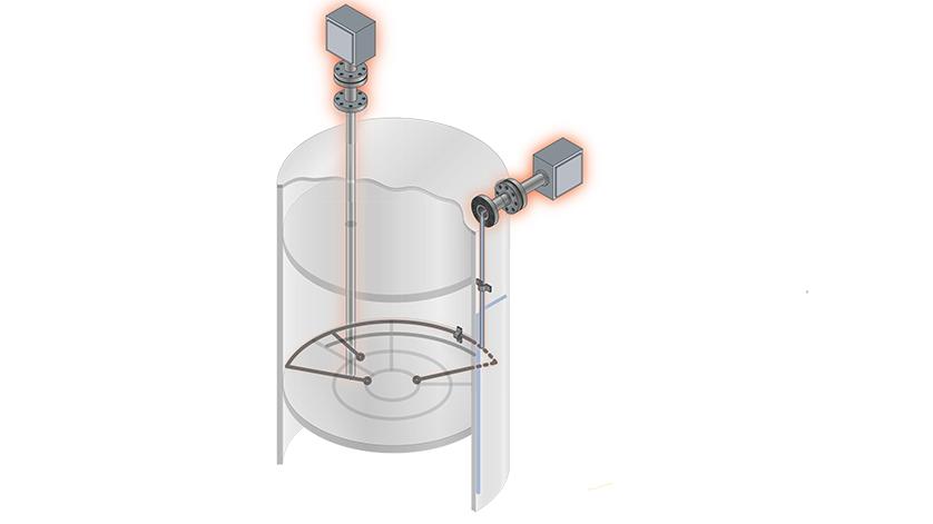 Medida de temperatura en depósitos