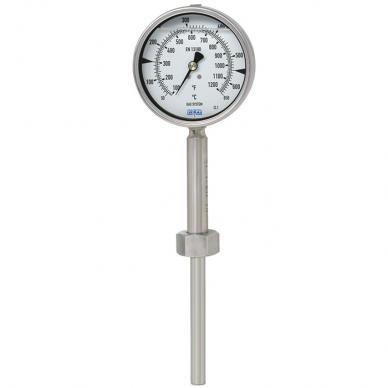 Termómetro dilatación de gas