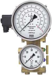 Manómetro para aplicaciones cryogénicas