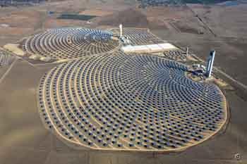 Energía solar, instrumentación