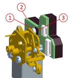 Funcionamiento de un termómetro de dilatación de gas