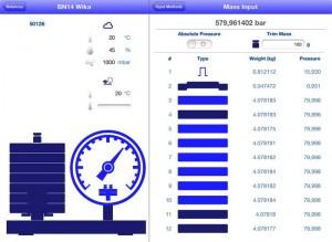 """El iPad con la aplicación CPB-CAL constituye el """"centro operativo"""" de la balanza de presión"""