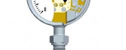 Termometro dilatacion gas