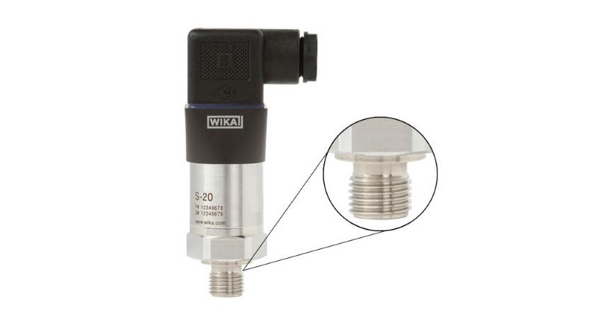 Transmisor de presión conexión
