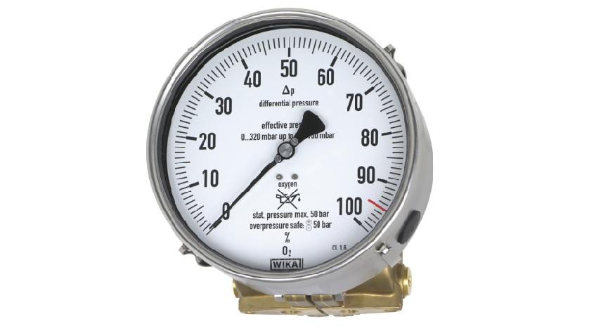 Manómetro de presión diferencial WIKA