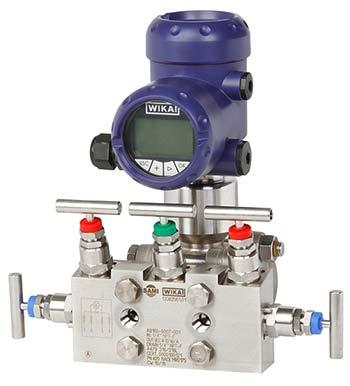 Transmisor de presión con manifold