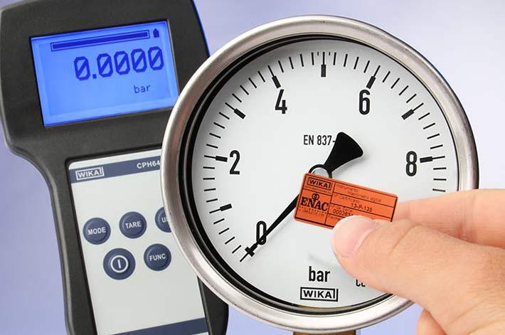 calibracion manometro ENAC WIKA