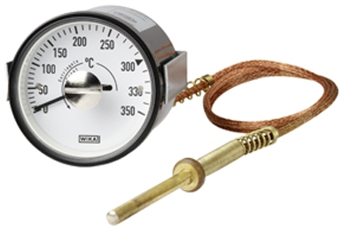 Termómetro WIKA para maquinaria