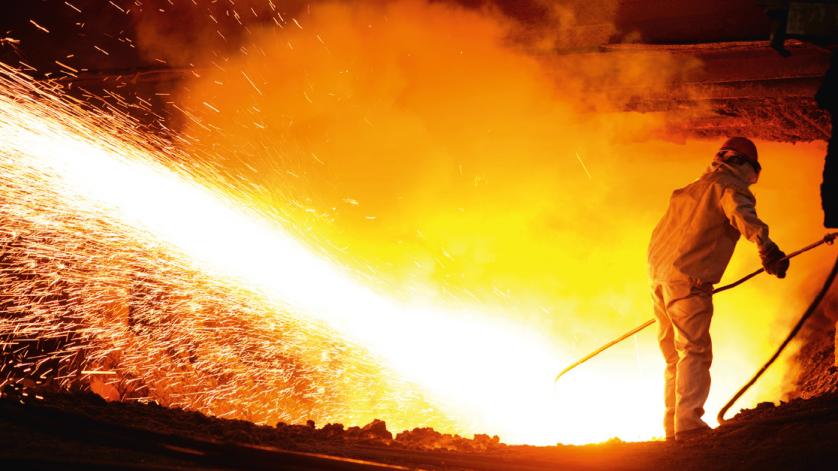 Manómetros, termómetros para industria siderúrgica